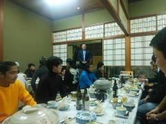 忘年会を開催しました。