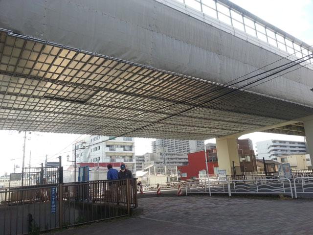 吊り足場(首都高速道路)
